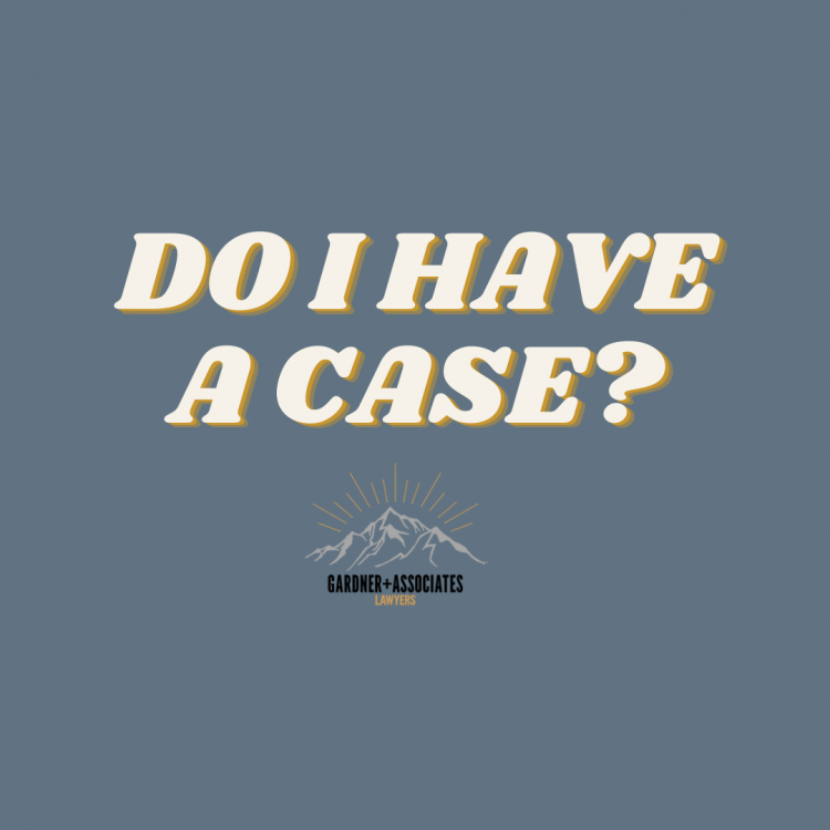 Do I Have A Case?