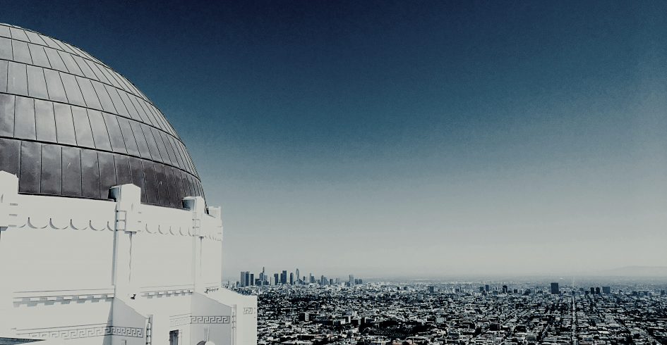 Los Angeles view from Observatory